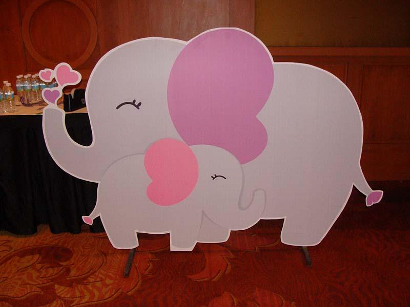 Baby Zoo Theme Elephant Baby And Mummy