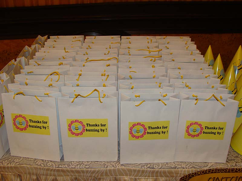 Theme Stickered Gift Bags