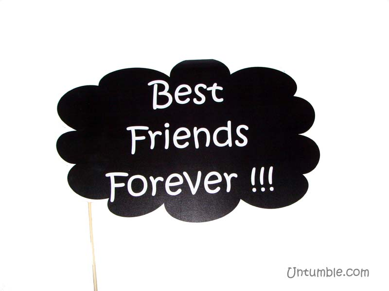 Fab At 40 Theme Best Friends Forever Photo Prop