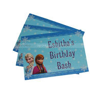 Placemats - Frozen theme birthday party