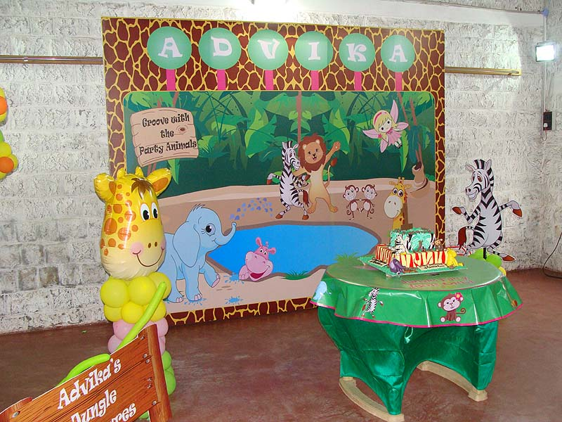 Jungle Theme Birthday Party Decoration Supplies - Untumble