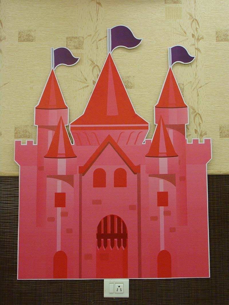 pink castle decoration captivating how to build a balloon castle