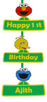 Welcome Cutout/Poster - Sesame Street party supplies