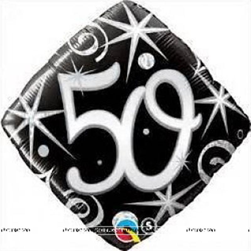 Theme 50th Birthday Foil Balloon