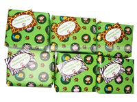 Gift wrappers - Jungle Theme Birthday Party Decoration Supplies