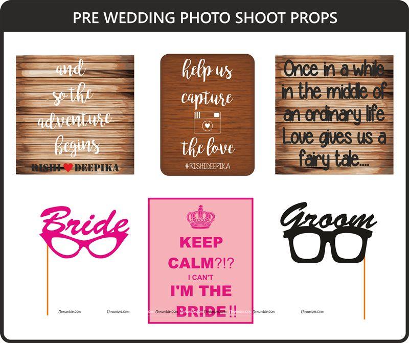 Wedding Photos Props.Photo Shoot Theme Pre Wedding Photo Shoot Props