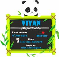 Posters / Cutouts - Panda Theme Birthday Supplies