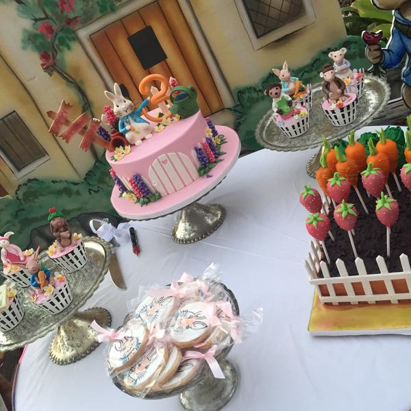 Nitara Kumar's Rabbit themed birthday