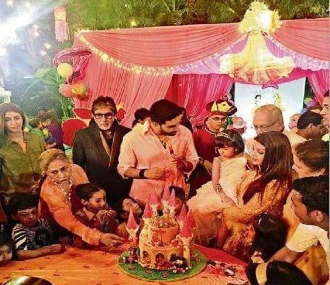 Aardhya Bachchan's 4th birthday party