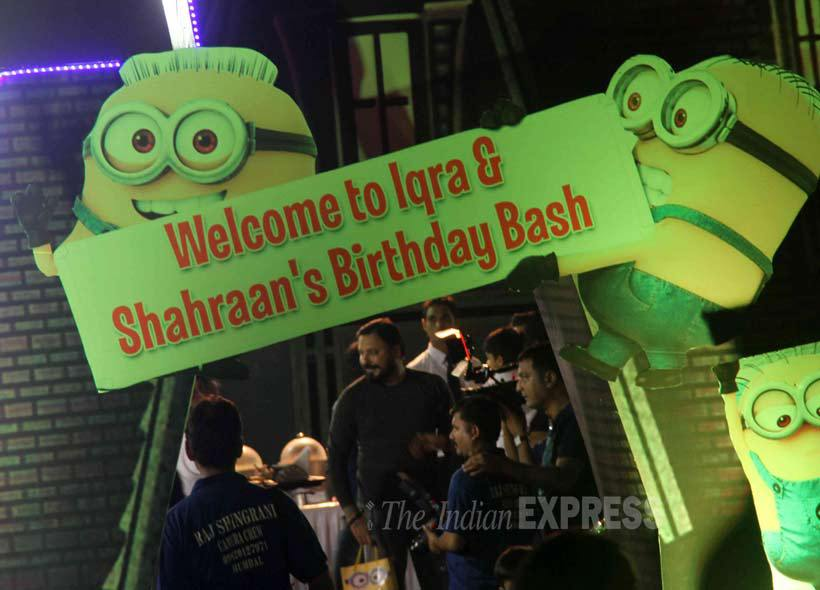Iqra & Shahraan Dutt's Minion theme birthday bash