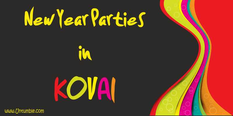 New year parties in Coimbatore 2017