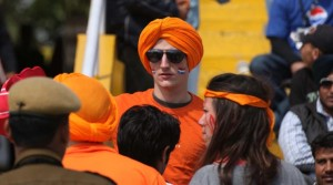 Fans of the Holland Cricket team