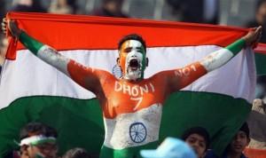 A Dhoni fan
