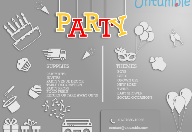 Party themes for kids !