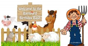 Buy Farm themed party supplies in India