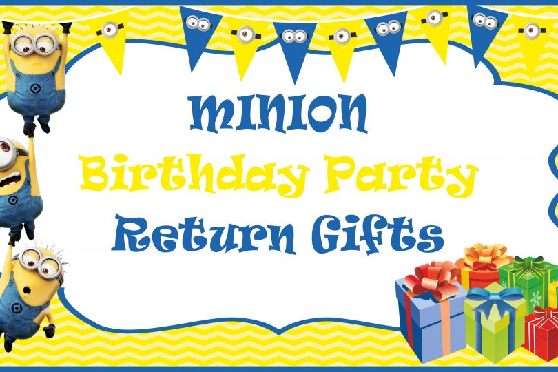 30 Minion Return Gifts Under Rupees 100