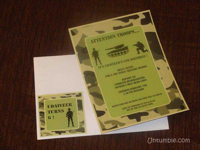 Camouflage theme birthday party supplies party kits