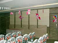 Pink Pony theme Ceiling hangings