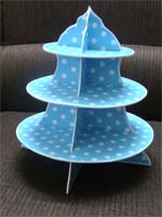 Blue cupcake stand - Others