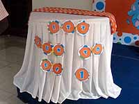 Circus Elephant theme Its fun to be one Bunting