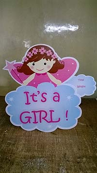 Its a girl - Pink Baby Shower
