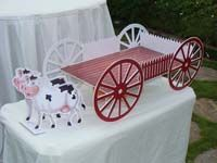 Cup cake stands - Barnyard