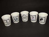 Cups - Themed - Black & White
