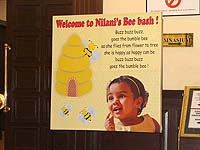 Welcome banner - Bumble Bee