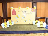Bumble Bee theme Backdrop