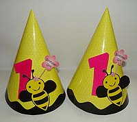 Bumble Bee theme Hats with 3D popouts