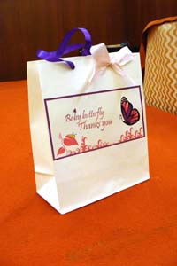 Butterfly theme Purple Butterfly Gift bags