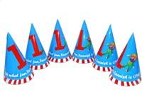 Blue No 1 carnival hats - Circus