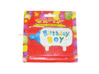 Birthday Boy Candle - Party Supplies