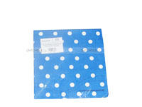 Tissue Paper - Dark Blue Polka  (Pack of 20) - Party Supplies