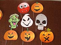 Halloween theme Photo Booth Props