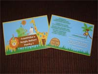 Rectangular Invitations