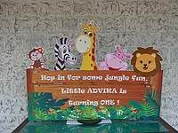 Jungle theme Entrance banner