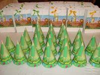 Jungle theme No 1 Jungle Birthday hats