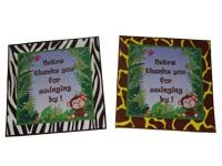 Jungle theme Thank you cards