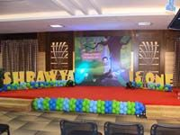 Stage Decor - Peacock themed birthday party supplies and decoration