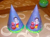 Little Krishna theme Hats