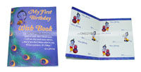 Little Krishna theme Wish book