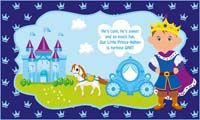Confident prince backdrop  - Little Prince