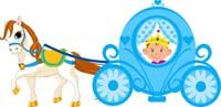 Little Prince theme Little prince in a carriage
