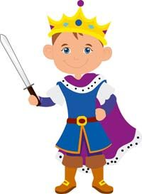 Little Prince theme Prince with sword