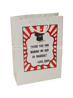 Magician Birthday theme Stickered gift bags