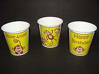 Monkey theme Cups - Theme based