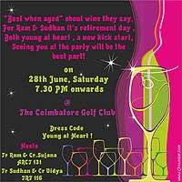 Neon theme Neon/Young at heart invite