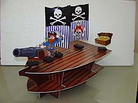Cup cake stands - Pirate birthday