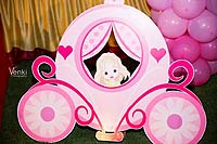 Fairy princess in a carriage - Princess
